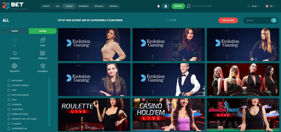 22bet-sports-review